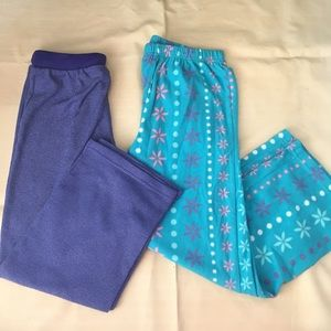 Other - Bundle Kids Girls Pajamas Pants 6-7 yrs